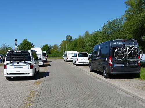 Wohnmobilstellplatz Rostock Parken