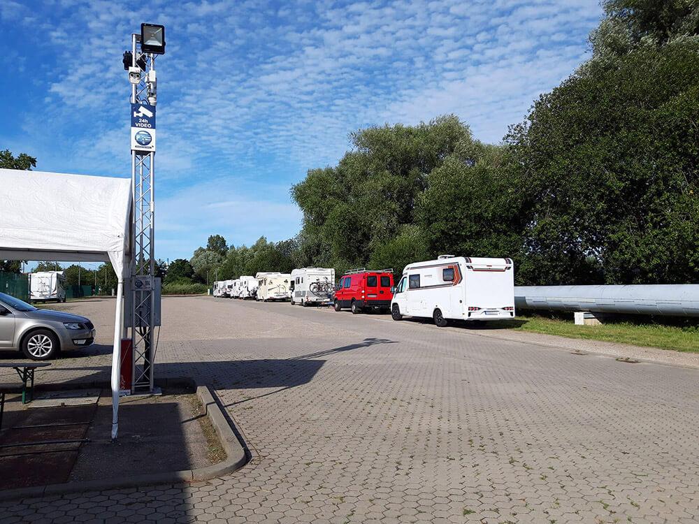 Wohnmobilstellplatz Rostock Videoüberwacht